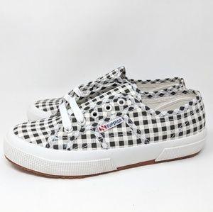 Superga Gingham 2750 women's sneaker size 7